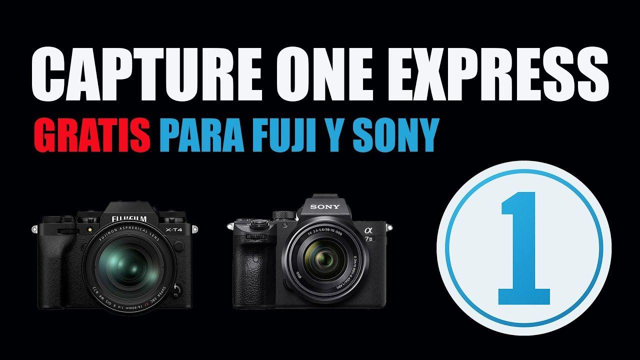 Editar Raw Con Capture One Express Gratis Para Fuji Y Sony Youtube En 2020 Cursos De Fotografia Viajes Fotograficos Fotografia