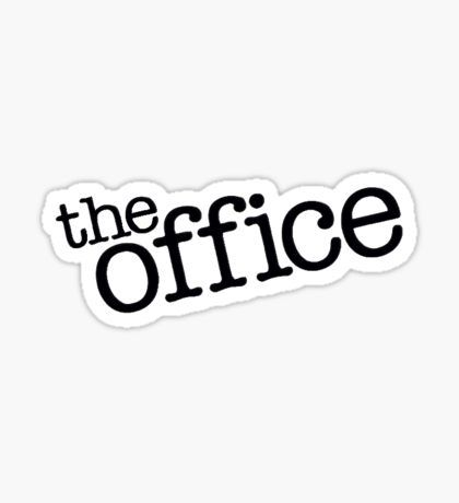 Funny Stickers | The office stickers, The office, Office logo
