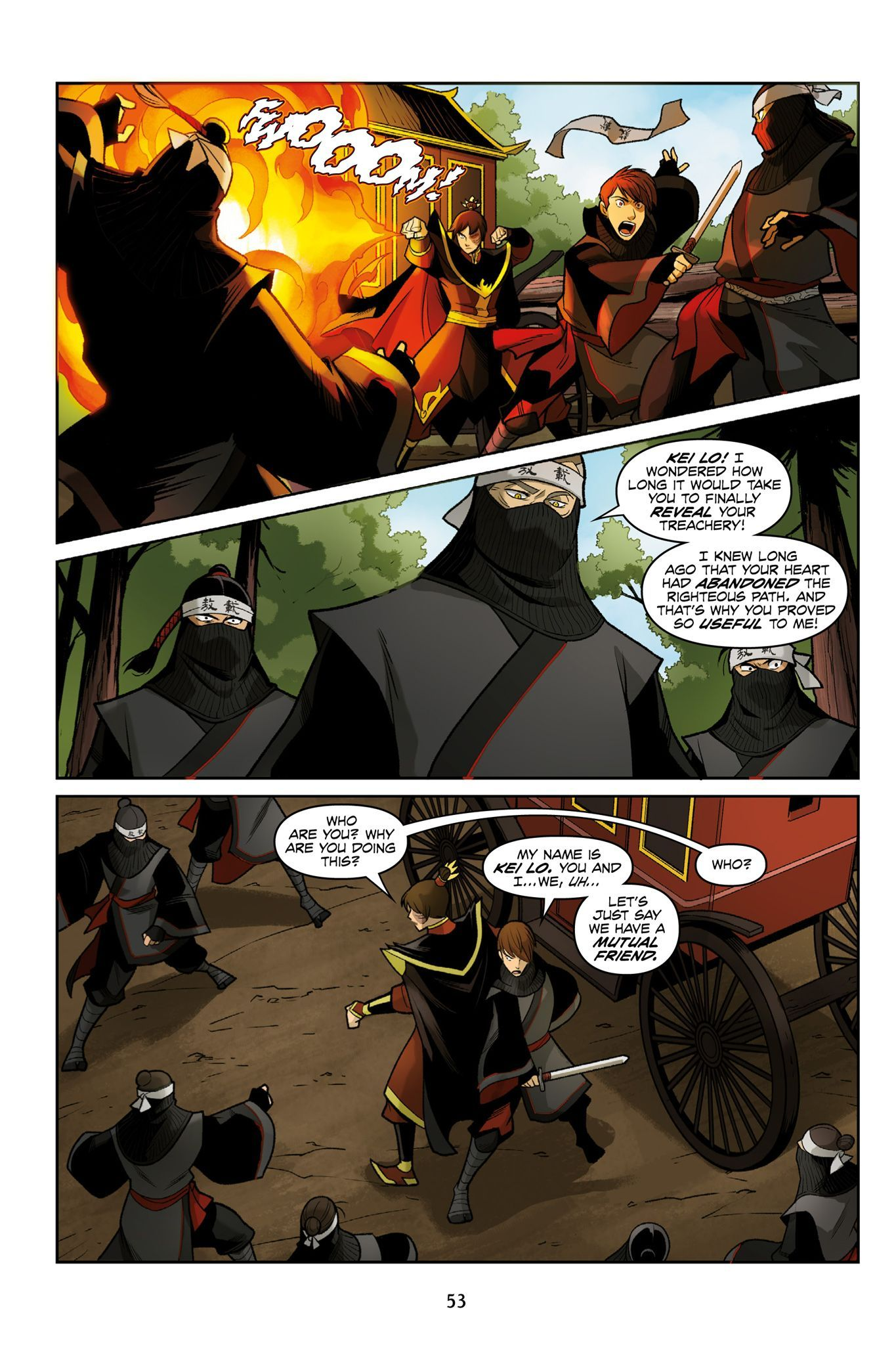 Avatar the last airbender smoke and shadow part 1 in