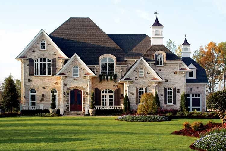 Chateau House Plan With 5196 Square Feet And 5 Bedrooms S From Dream Home Source House Plan Code Dhsw43151 American Houses Dream House House Plans