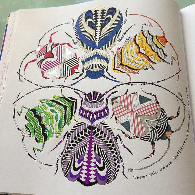 Latest Picture MillieMarotta AnimalKingdom Colouring Bigkid Colouringiscool Colouringbookforadults Shimmerpens