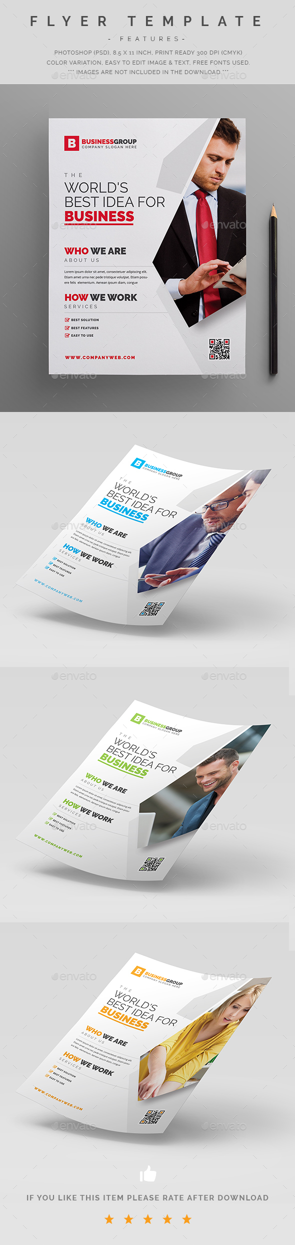 Corporate Flyer Template PSD   Editorial   Pinterest   Material ...