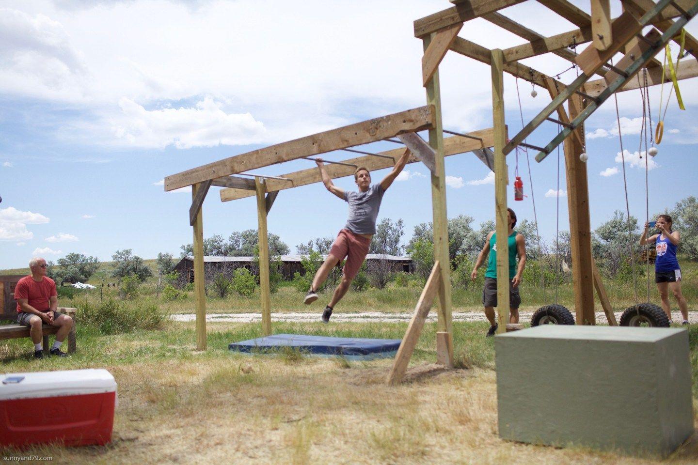 DIY Ranch-Style American Ninja Warrior Course | Ninja ...