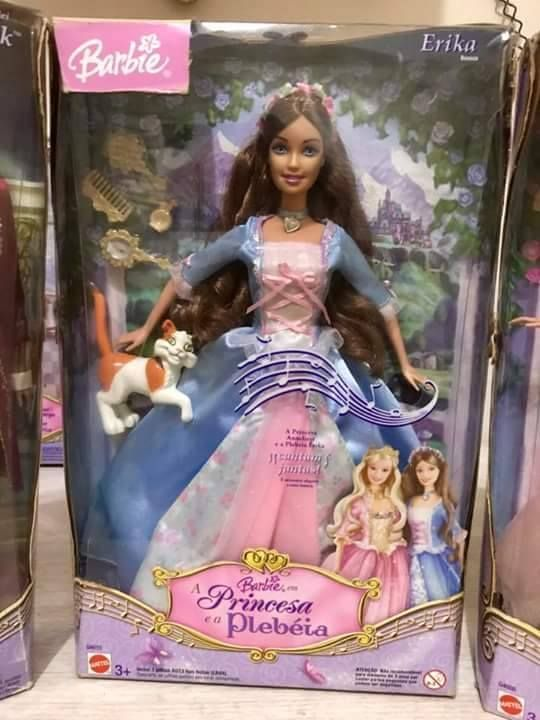 Barbie Erika A Princesa En Plebeia Tonies