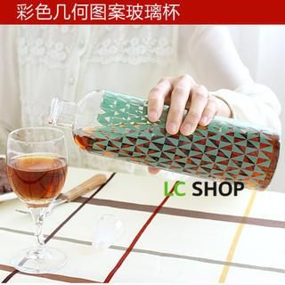 Buy 'Lazy Corner – Patterned Glass Water Bottle' with Free International Shipping at YesStyle.com. Browse and shop for thousands of Asian fashion items from China and more!