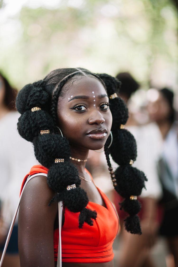 Pin von heymaryjean auf Girls in 2019 | Afro punk, Natural ...