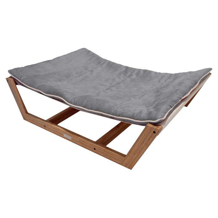 nautico bamboo pet hammock in graphite gray   top dog on joss  u0026 main  pets nautico bamboo pet hammock in graphite gray   top dog on joss      rh   pinterest