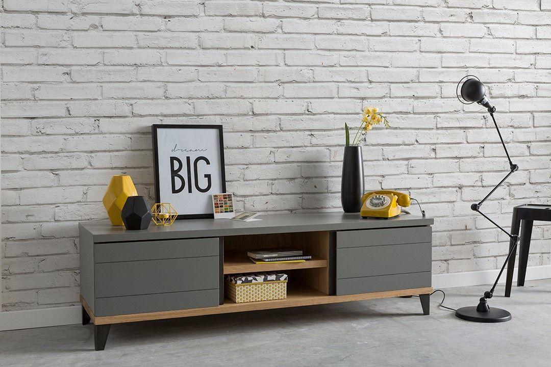 Que Pensez Vous De Ce Meuble Relooke Dans Un Style Industriel Pour Contraster Le Tout Nous Avons Opte Pour La Vivacite Et La Fant In 2020 Home Decor Decor Furniture