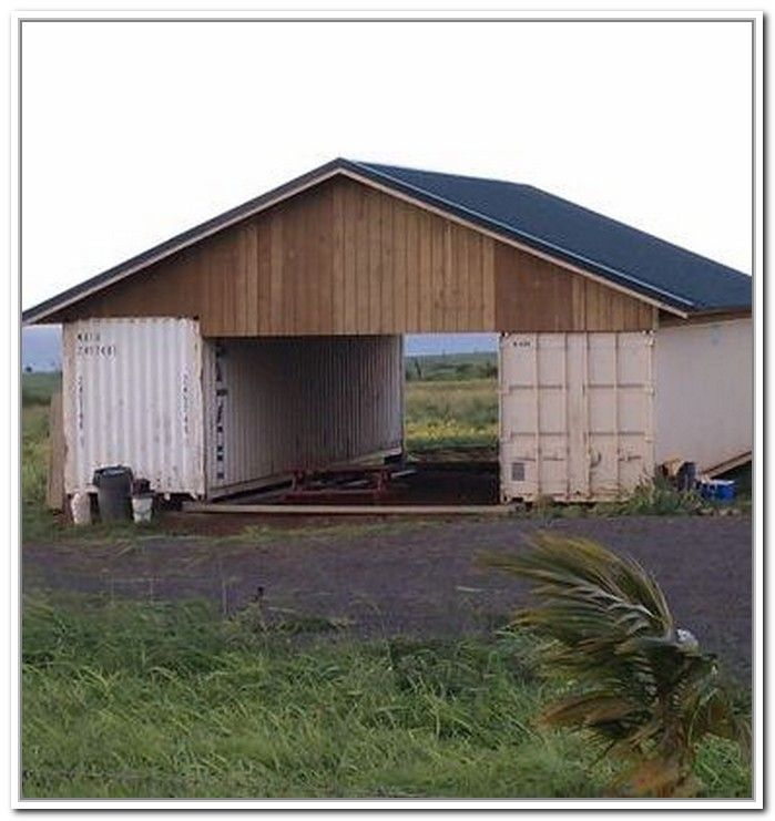 Attractive Shipping Container Storage Ideas Part - 2: Shipping Container Storage Shed