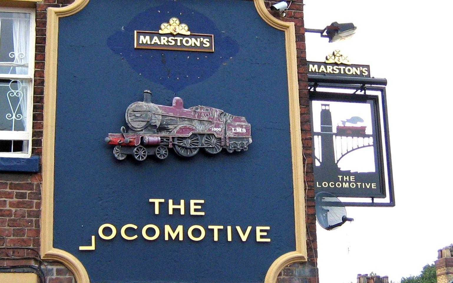 The Locomotive Pub Signs Store Signs British Pub