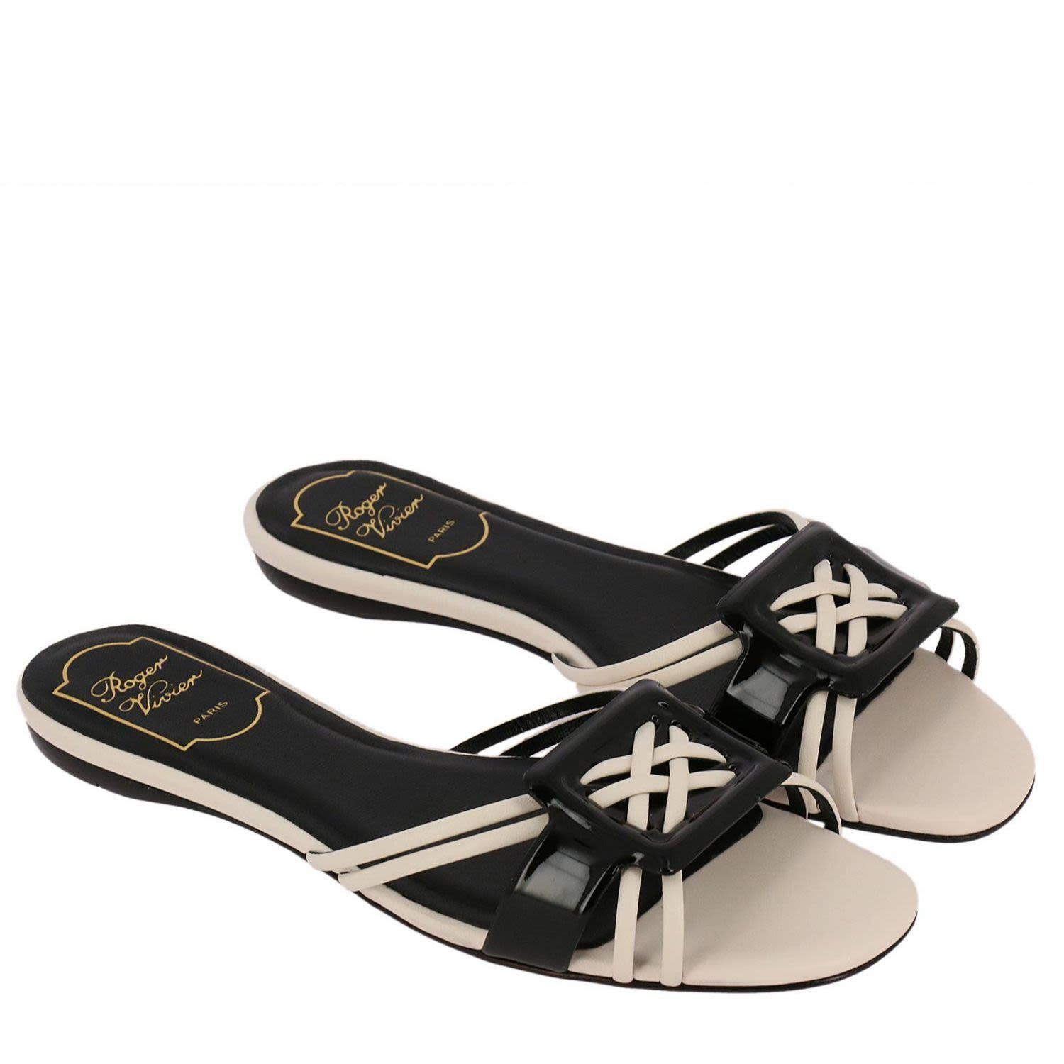 d7197a70a93f ROGER VIVIER FLAT SANDALS SHOES WOMEN ROGER VIVIER.  rogervivier  shoes     rogervivierflats
