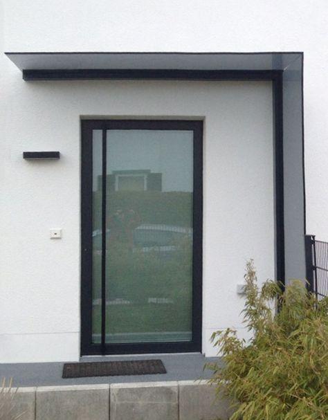 glas vordach duravento mit integriertem seitenwindschutz vordach windschutz und glas. Black Bedroom Furniture Sets. Home Design Ideas