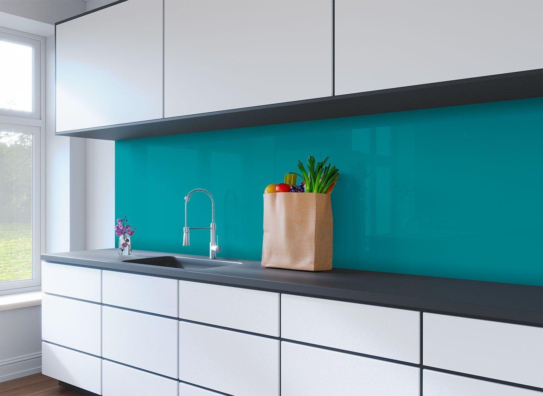 Teal Kitchen Splashback Genie Splashbacks Kitchen Splashback Teal Kitchen Turquoise Kitchen
