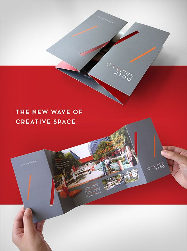 Creative Brochure Design \u2013 Geometric Shapes And More Entheos