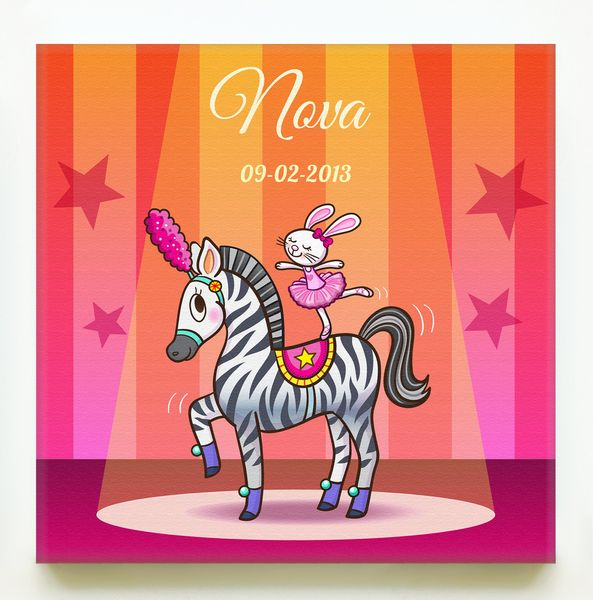 Personalized print on canvas made by tirza van hensbergen httpwww print op canvas zebra thecheapjerseys Gallery