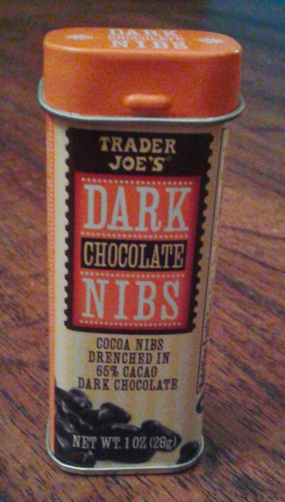 What S Good At Trader Joe S Trader Joe S Dark Chocolate Nibs Trader Joes Trader Joe S Products Dark Chocolate
