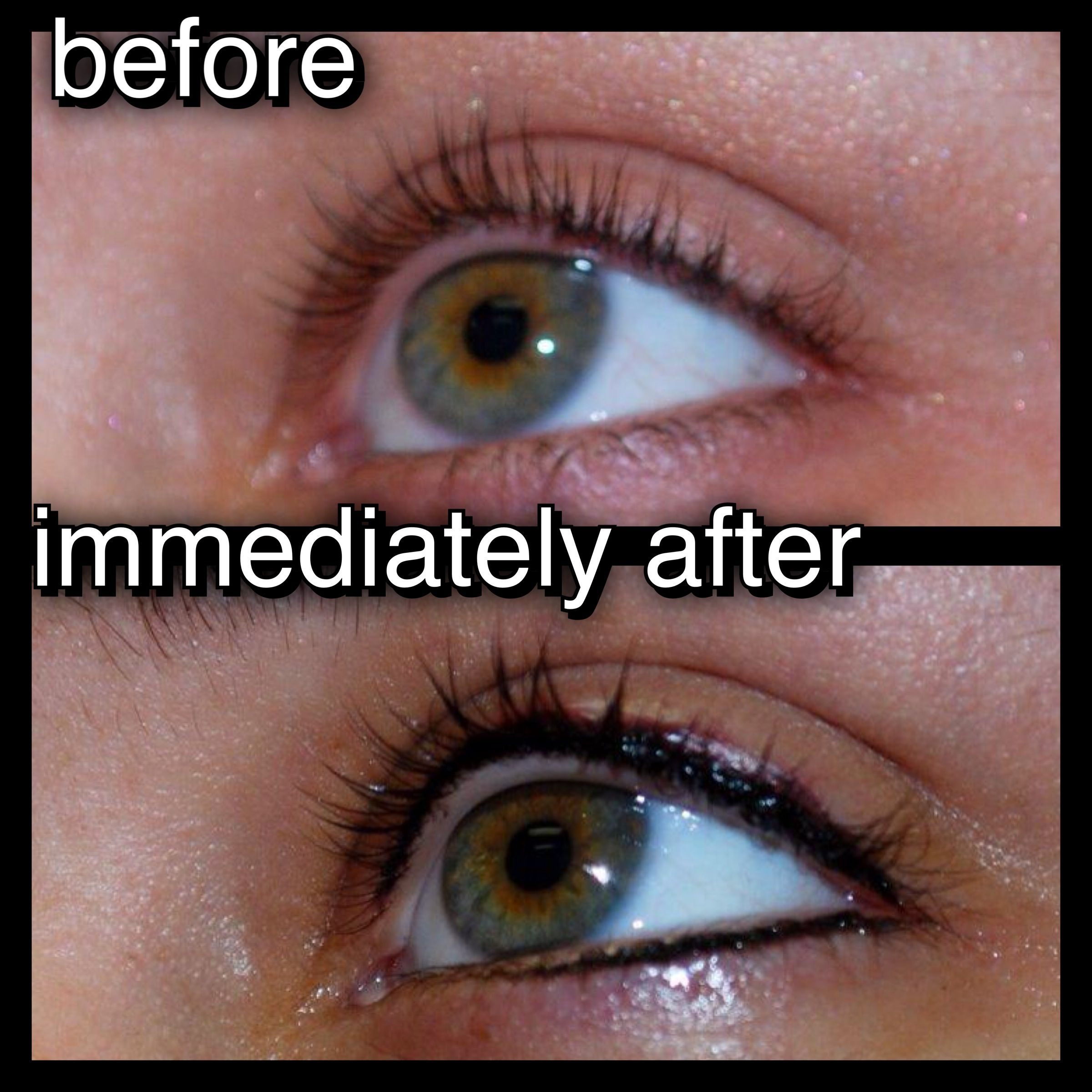 Permanent Eyeliner Top Bottom Permanent Makeup Eyeliner Eyeliner Tattoo Permanent Eyeliner