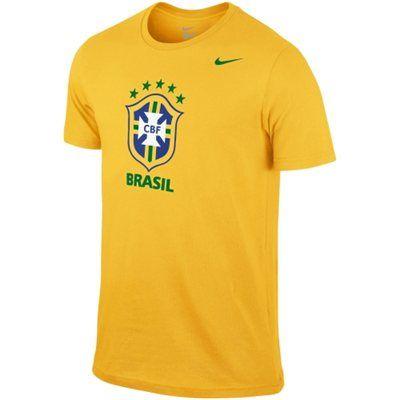 226388393b69 Brazil Nike World Cup Soccer Crest T-Shirt | USA/Brazil/Barcelona ...