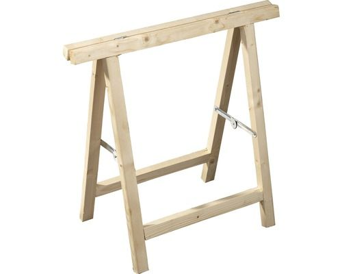 Tréteau pliant bois résineux 750x750 mm acheter sur hornbach.ch chf