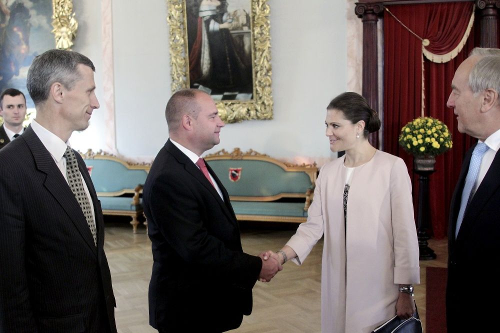 Princess Victoria made an official visit to Riga in Lithuania. The city is the capital of Europe for 2014.