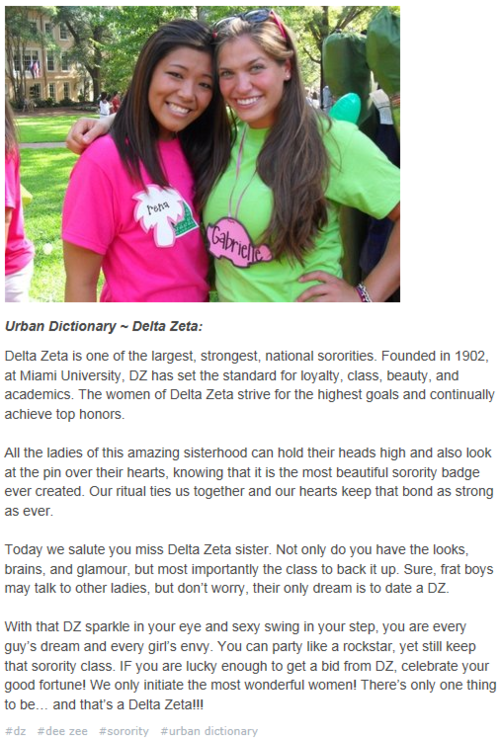 Urban Dictionary For Dz   Delta Zeta Girl From Lsu -1587