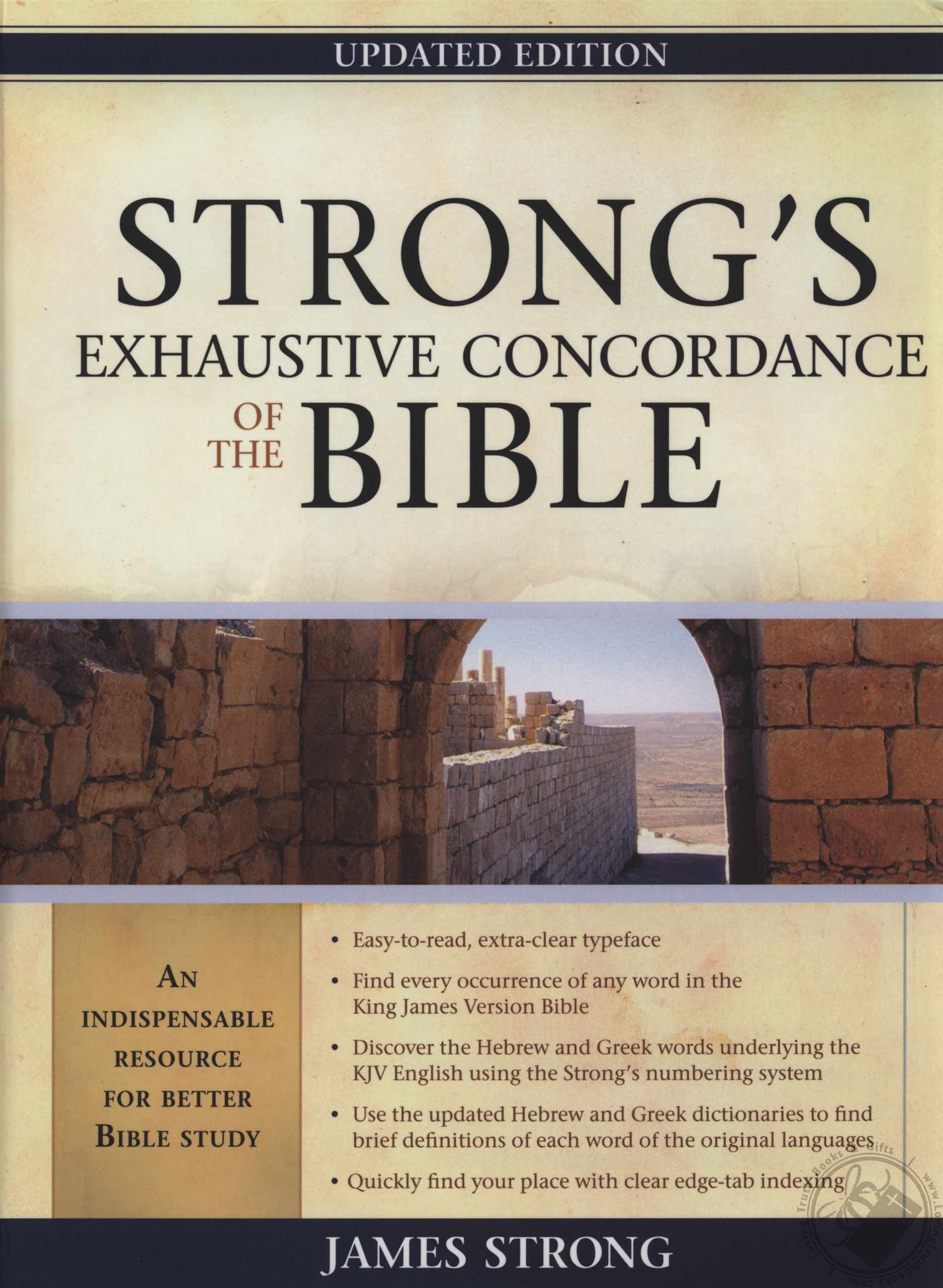 Can't study without this!   Books   Bible dictionary, Strong's