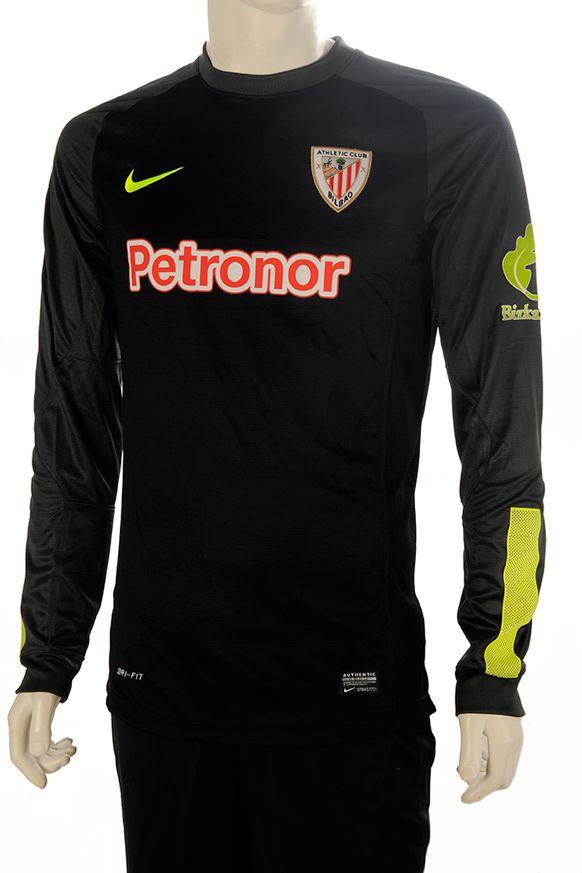 Athletic Equipación Portero Camiseta M L Negra  c7b6f279d6d72