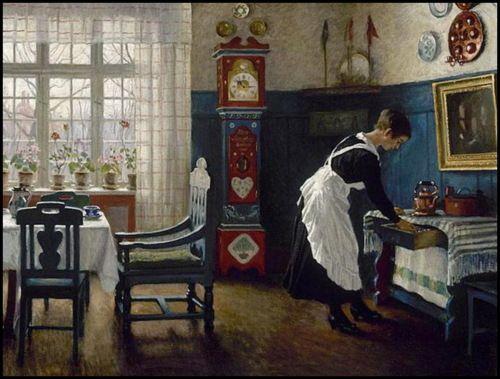 Paul Gustave Fischer (1860-1934) Danish Painter