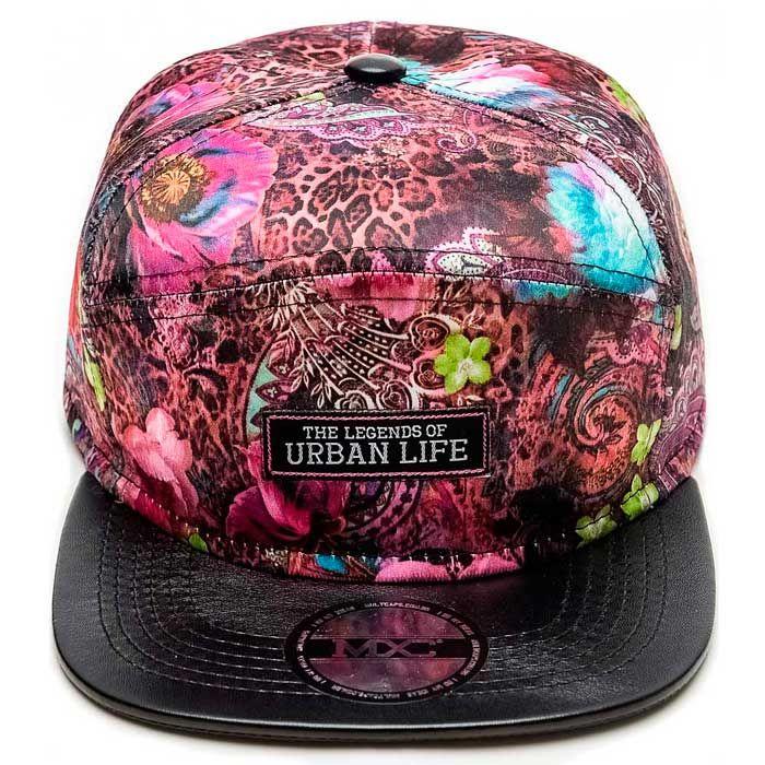 Boné Multcaps MXC – Urban Life Floral Pink l Multcaps  61ab6fcaee2