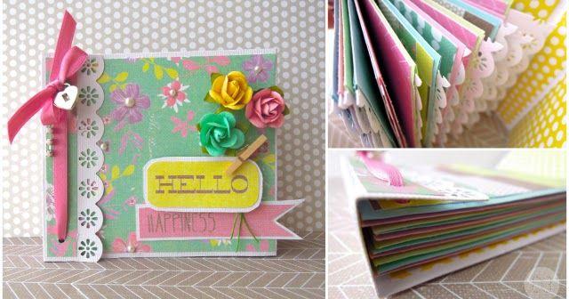 Blog dedicado al scrapbooking manualidades en papel y tarjetera