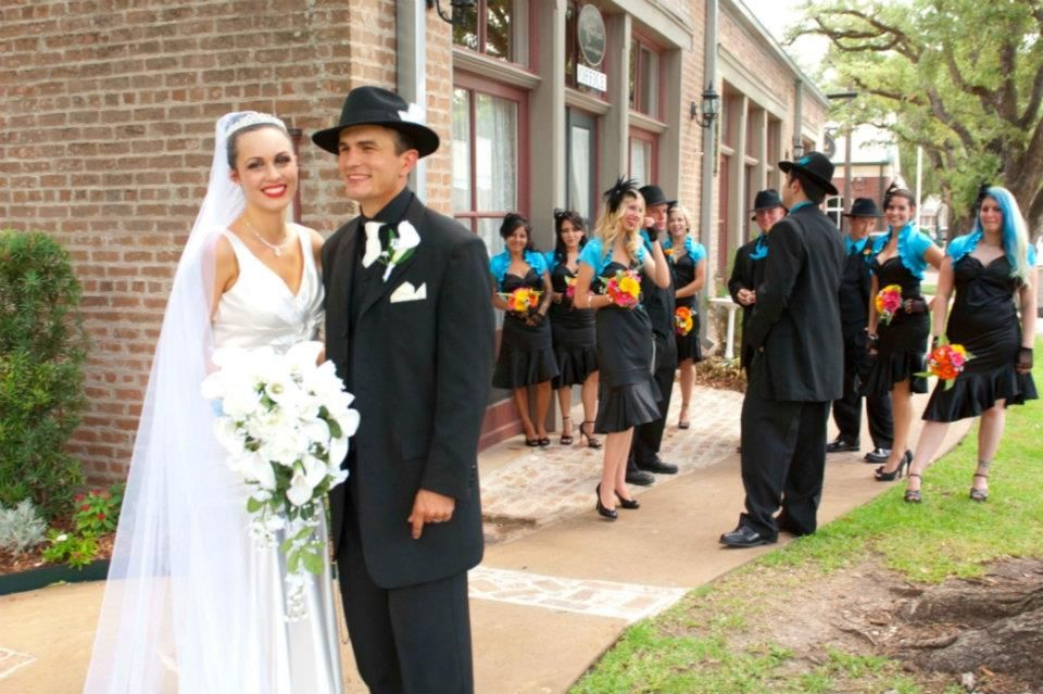zoot suit wedding...I will always always luv this style...fck what ...