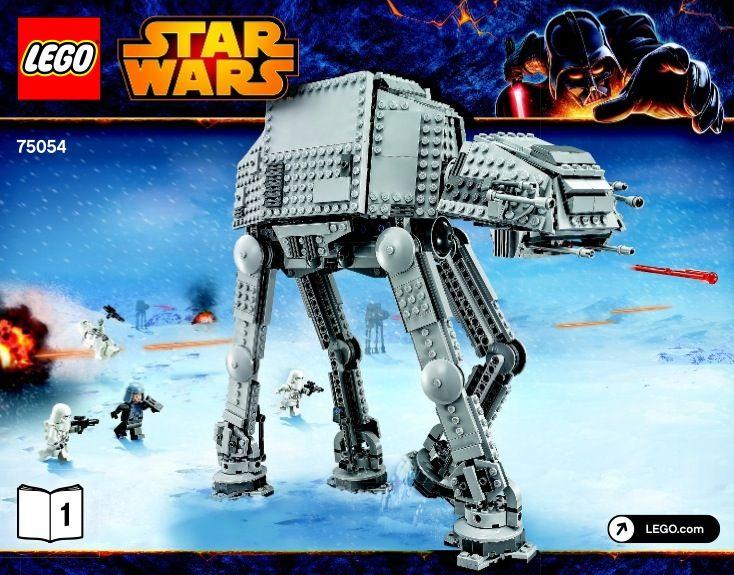 Star Wars Episode 4-6 - AT-AT [Lego 75054] | Lego Sets of Epicness ...
