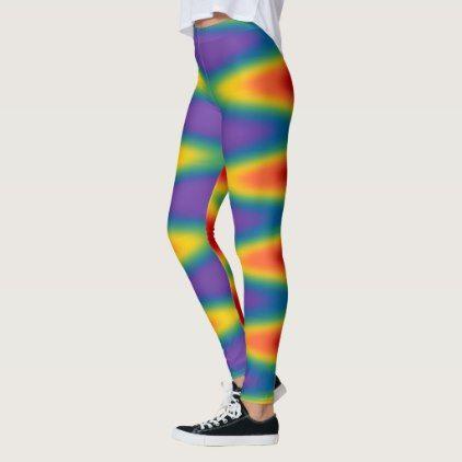 cb8fab42a00547 Gay Pride Leggings Rainbow Love Stretchy Pants | Zazzle.com | stuff ...