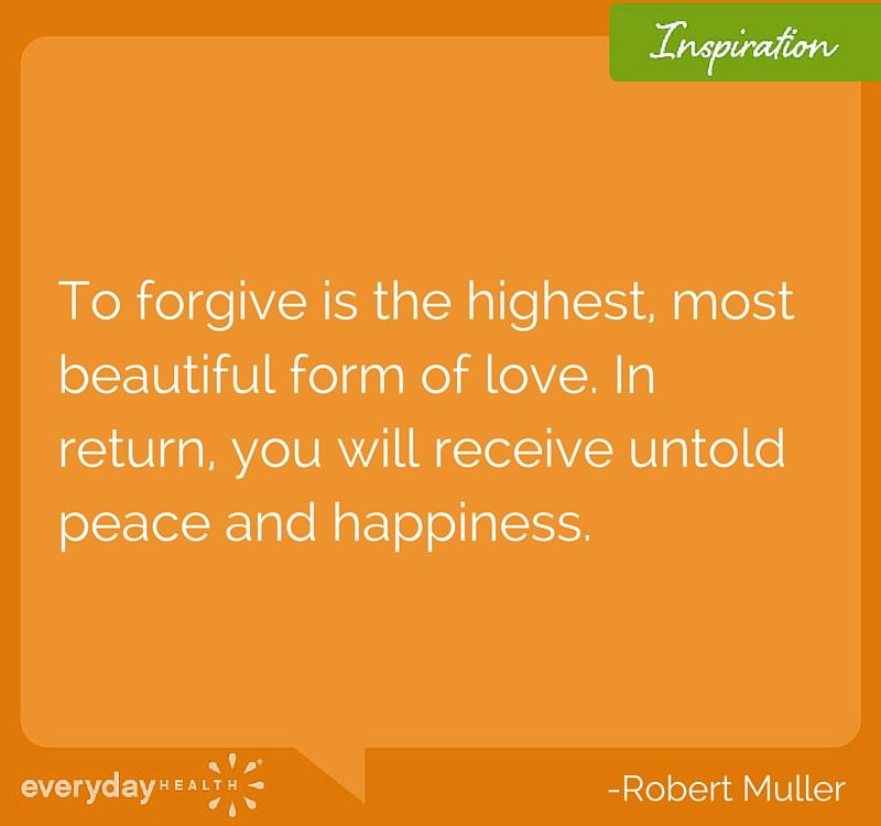 """""""To forgive is the highest, most beautiful form of love. In return, you will receive untold peace and happiness"""" -Robert Muller #qotd #quoteoftheday #motivation #inspirationalquote #everydayhealth 