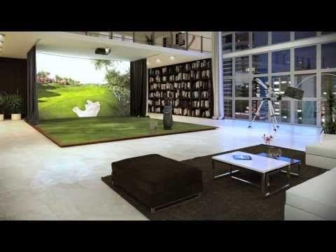 TrackMan Simulator introduction Golf, Golf simulators