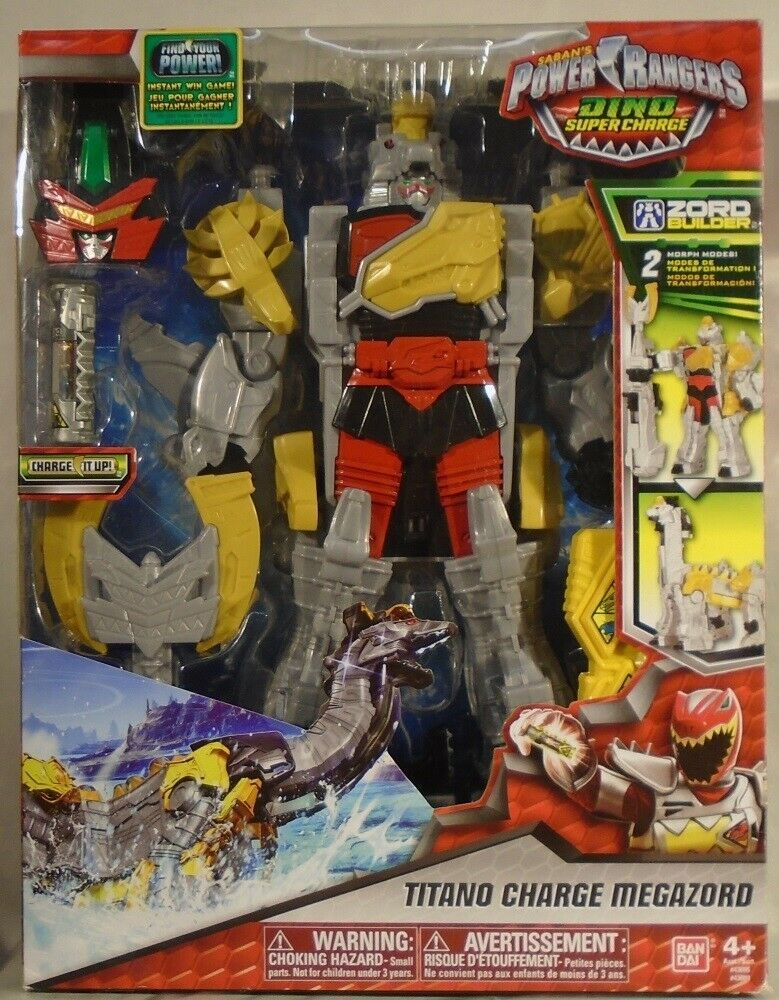 Ebay Sponsored Power Rangers Dino Supercharge Titano Charge