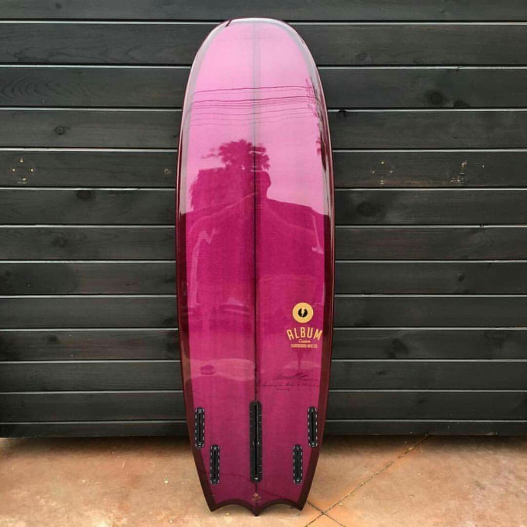 """5'6"""" bat tailed Symphony by @albumatt and glassed by @lightsoutglassing…"""