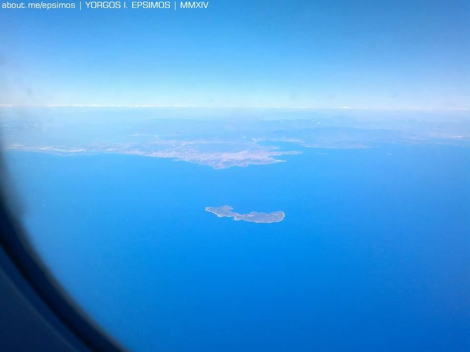 #Farmakonisi | Air view | The island where #Hippocrates supposedly collected his medicine plants @KosIsland #Kos ΦΑΡΜΑΚΟΝΗΣΙ