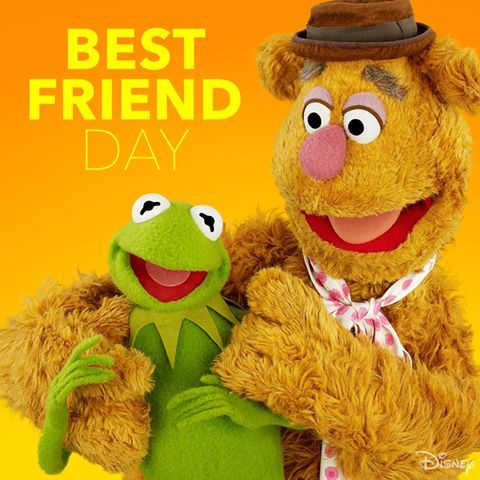 ♫ Movin' right along! We're truly birds of a feather, we're in this together! ♫ Happy ‪#‎NationalBestFriendDay‬! (6-7-15)