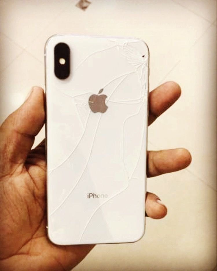 Iphone x broken back glass iphone online mobile mobile