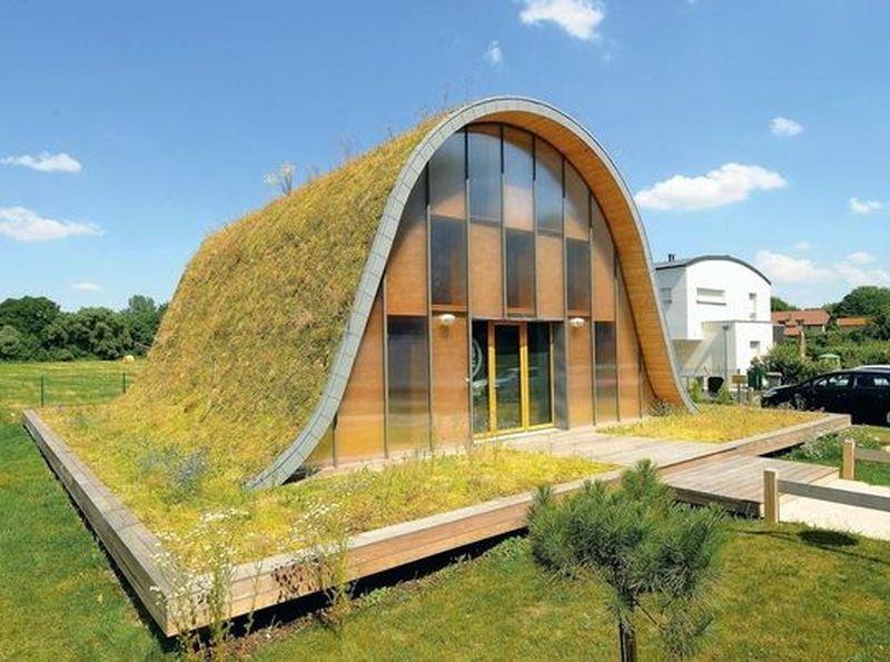 Concilier style contemporain et toiture végétalisée : 20 exemples ...
