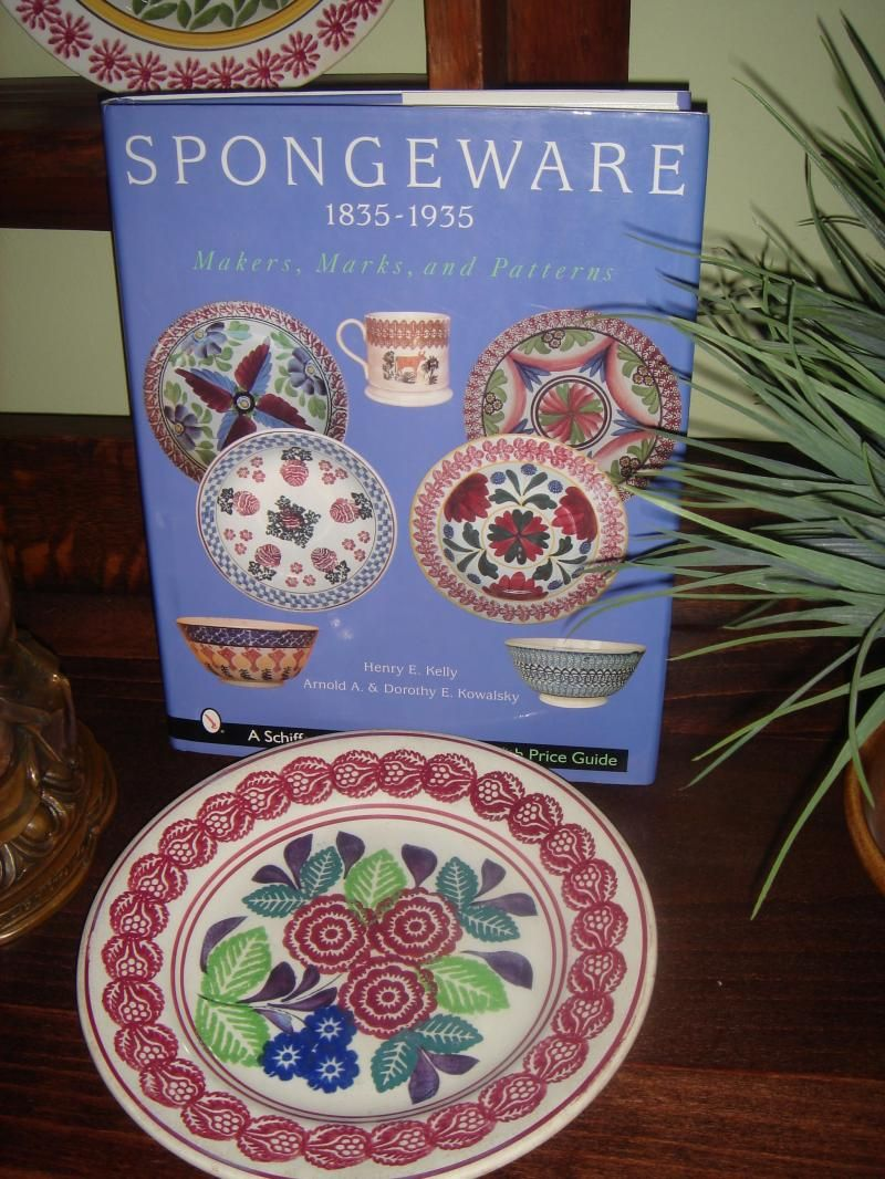 BOOK-SPongeware Pottery 1835-1935 Makers, Marks and Patterns. Henry ...
