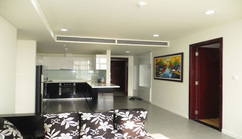 Watermark apartment Hanoi 2 bedrooms rental with fully