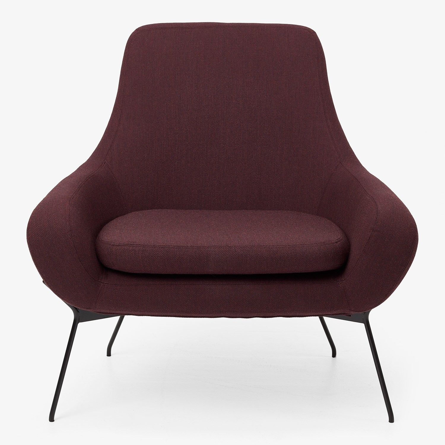 Stupendous Softline Noomi String Lounge Chair Wine Abc Carpet Home Pdpeps Interior Chair Design Pdpepsorg