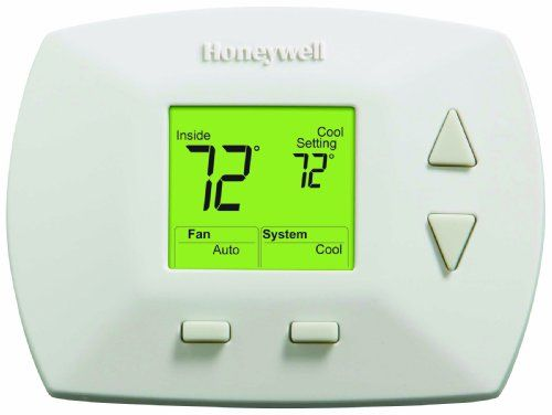 Honeywell Rth5100b 1025 Deluxe Manual Thermostat Digital Thermostat Honeywell Thermostats Home Thermostat
