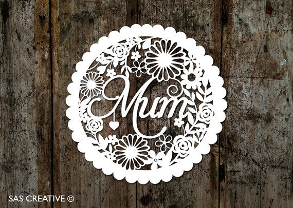 Papercut Template for Wedding Day / First Anniversary Celebration ...