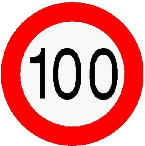 bord 100 bingo bord 100 veel plaatjes voor achterbank bingo | onderweg  bord 100