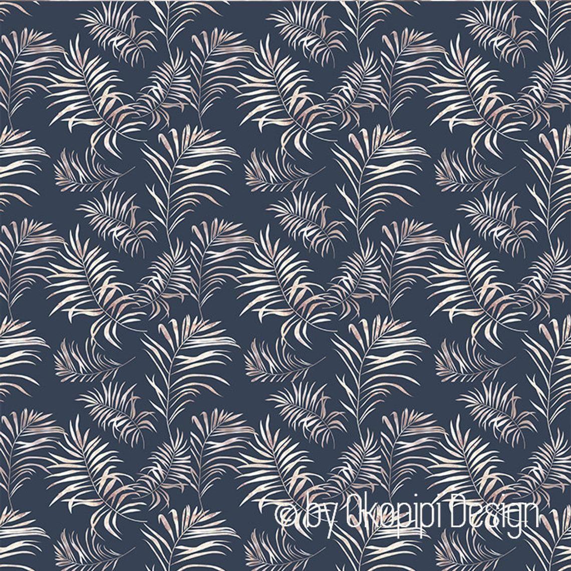 dark blue wallpaper,rose gold wallpaper,palm tree leaves