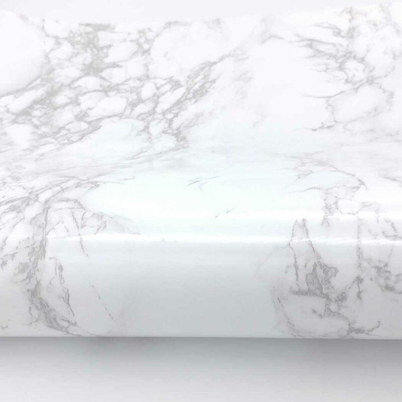 Tulane Faux Marble Contact Paper 6 5 L X 24 W Peel And Stick Wallpaper Roll 1000 In 2020 Faux Marble Marble Paper Marble Interior