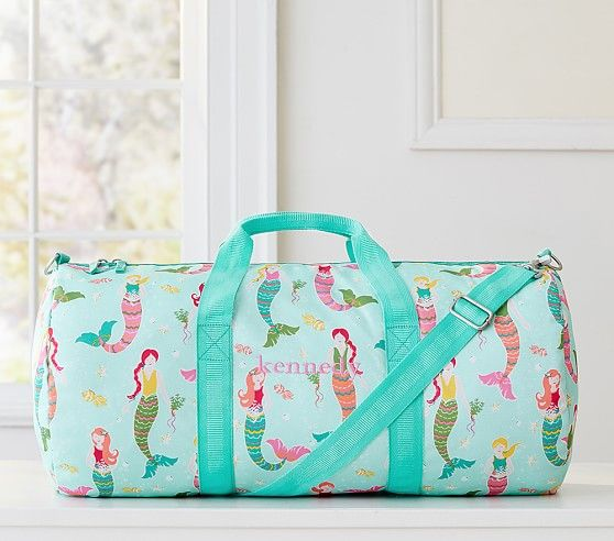 Aqua Mermaid Duffle Bag  c71fe1db6bc58
